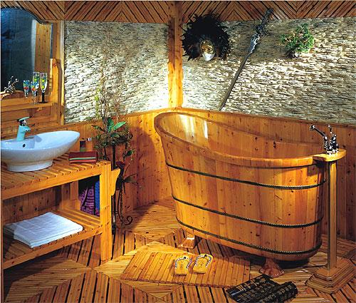 Bañeras rústicas