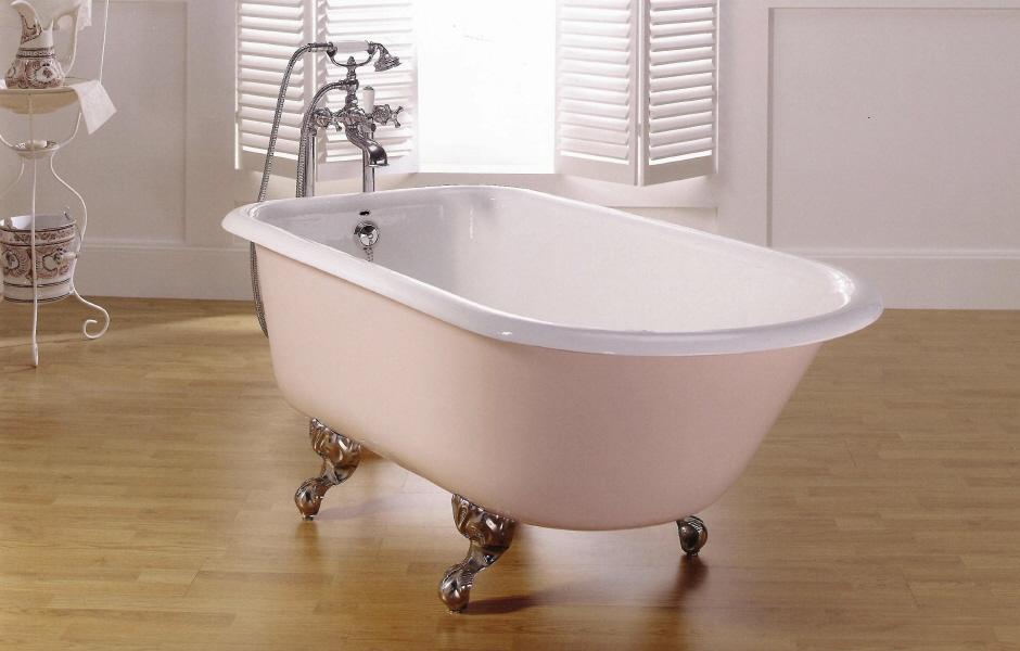 Bañeras románticas y consejos para complementarlas - Bañeras de ... aaf21943e348