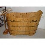 Bañera de madera modelo Canton