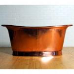 Bañeras de cobre modelo Cuprosa