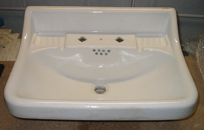 Lavabo Para Baño Antiguo:Lavabo de pared antiguo modelo L1982 – Bañeras de patas y decoración