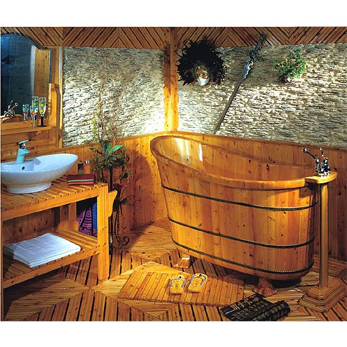 Bañeras de madera modelo Shanghai
