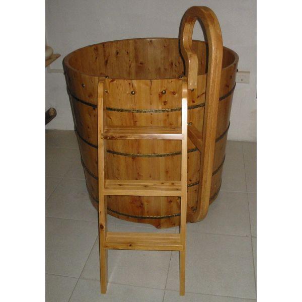 Ba era de madera tianjin ba eras de patas y decoraci n - Banera de patas ...