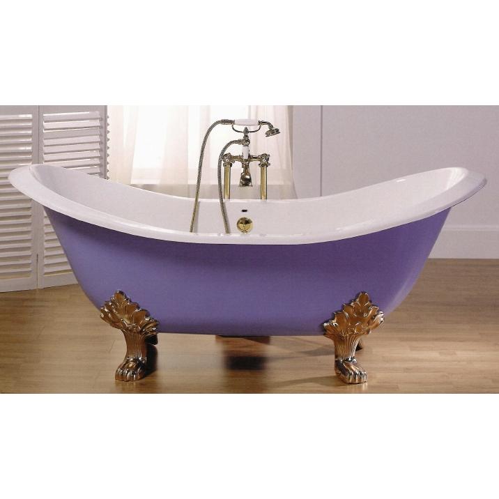 Baño De Tina O Artesa: Bañeras de patas y decoración clásica de baño