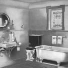 Vista de un baño antiguo
