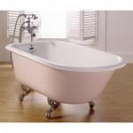 Bañeras clásicas de hierro fundido y patas