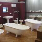 Bañeras de hierro fundido exentas