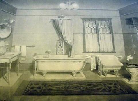 El baño de época - Bañeras de patas y decoración clásica ...
